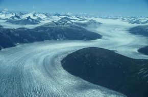 Antarctica accounts for about 90 percent of the world's ice. See more pictures of glaciers.