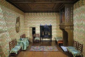 This realistic dollhouse was created in the early 1700s and belonged to a woman named Petronella Oortman. It can be seen at the Rijksmuseum in Amsterdam.