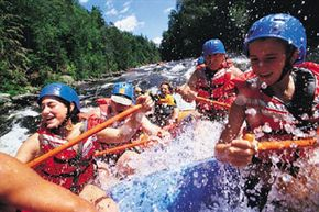 Image Gallery: Extreme Sports The American Outdoorsman Adventure Club is perfect for those who love the adrenaline rush associated with sports like whitewater rafting. See pictures of extreme sports.