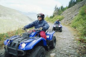 You can satisfy your need for speed on an ATV trip sponsored by the American Outdoorsman Adventure Club.