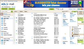 AOL Mail offers a variety of tools