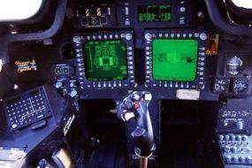 Inside the Apache Longbow cockpit