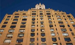 An Art Deco apartment building in New York City