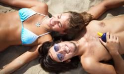 UV rays reflect off sand, snow, concrete and other surfaces.