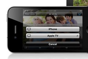 Click the AirPlay icon to select which devices you want to receive the signal.