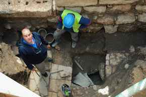 An archaeologist's main goal is to help piece together the past.