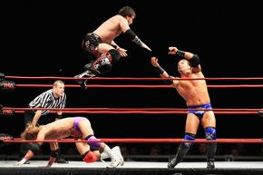 """Pro wrestling has now been given an exemption from the Louisiana law banning """"sham or fake contests or exhibitions."""""""