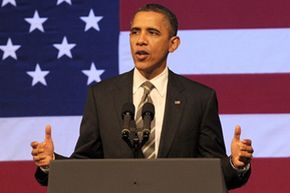 President Barack Obama speaks at a campaign event in San Francisco in February 2012. See more pictures of Barack Obama.