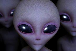 Artist's conception of an alien.
