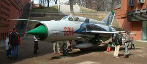 The MiG-21 is one of several Soviet aircraft allegedly tested at Area 51.
