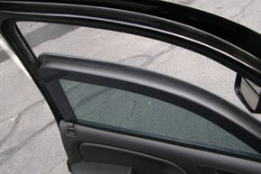 The factory glass is replaced with custom glass anywhere from 1 to 3 inches (2.5 to 7.6 centimeters) thick.