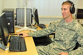 Spc. Benjamin Weston is a Russian linguist with the Army's 1st Military Intelligence Battalion, 66th Military Intelligence Brigade.