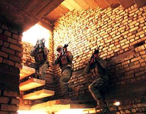Rangers are capable of carrying out quick, direct-action raids with minimal troop numbers.