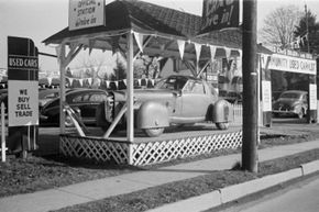 This is the 1948 Tasco automobile prototype. Only one of these cars was ever built. The design borrowed many ideas from airplanes at the time.
