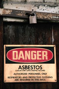 Asbestos is a very dangerous material when it is disturbed. Leave its removal to the professionals.