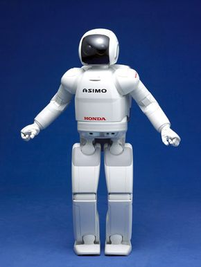 Honda's ASIMO robot. See more pictures of robots.
