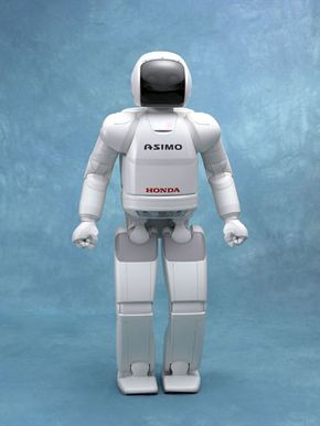 ASIMO's physiology is developed to mimic human physiology.