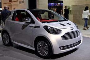 Image Gallery: Small Cars The Aston Martin Cygnet. See more pictures of small cars.