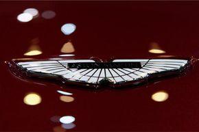 The Aston Martin logo