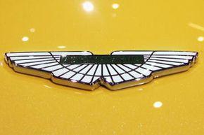 The Aston Martin emblem