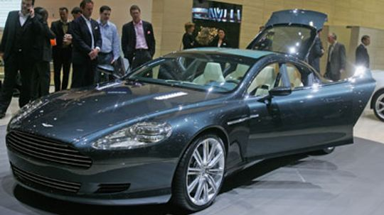 How the Aston Martin Rapide Works