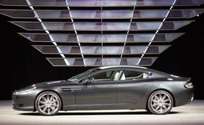 The Rapide Concept from Aston Martin is shown on Jan. 9, 2006, during the press days at the North American International Auto Show at Cobo Hall in Detroit, Mich.