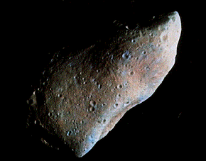 The asteroid Eros is 21 miles long and 8 miles thick -- a mini-planet! Explore the mission that landed on this asteroid after orbiting it for a year.