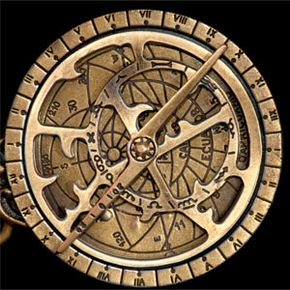 Once you learn how to use it, that brass astrolabe has a lot of information to impart.