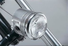 Astrozombie's headlight is made from