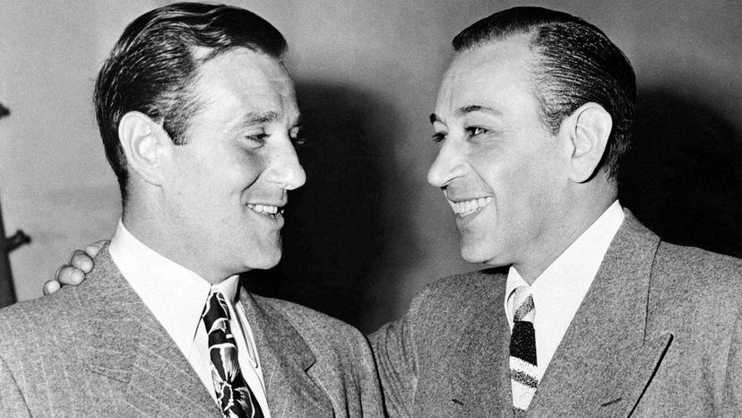 Bugsy Siegel and George Raft