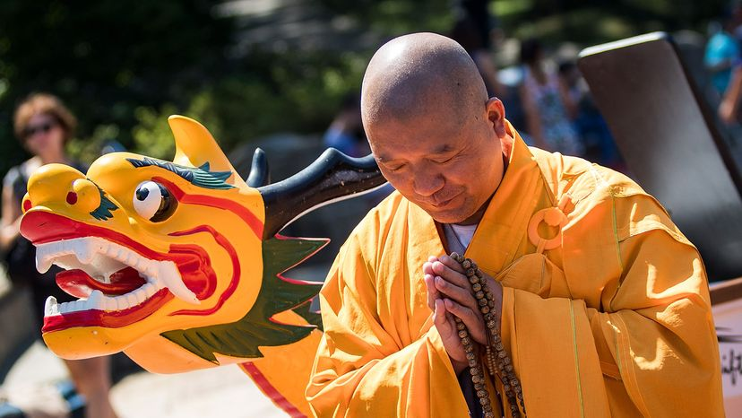 blessing of dragon boat ceremony