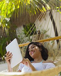 Relax. All your travel details are organized on your mobile device.