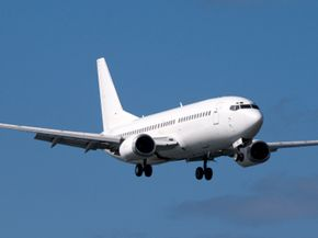 The Boeing 737 is a common medium passenger jet used by many budget airlines. See more flight pictures.