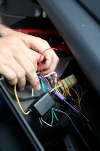 You can install you own stereo and speakers -- just make sure you have the right tools and instructions.