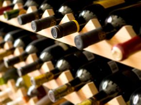 A wooden wine rack is fairly easy to assemble on your own. See more wine pictures.