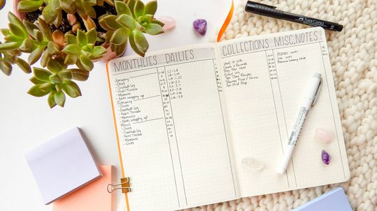 Bullet Journal Ideas for People Who Hate To-do Lists
