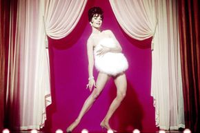 """Natalie Wood portrays famed burlesque star Gyspy Rose Lee in the 1962 movie """"Gypsy."""" See more movie-making pictures."""