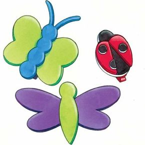 These Totally Buggy Butterfly Craft Clips are a cinch to put together, so they shouldn't bug you too much.
