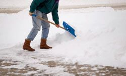 Homeowners insurance can protect you from a lawsuit if someone is injured while on your property -- whether it's from a fall on your icy driveway or it's from a bite from your pet dog.