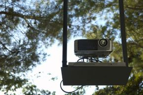 Test your projector and other equipment before your guests arrive! Even if you've used the same setup before, there's always a chance that something could malfunction.