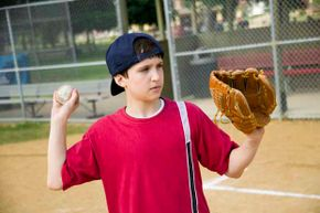 Don't overdo that pitching arm. Little League says 7- and 8-year-olds shouldn't throw more than 50 pitches a day or 75 pitches a week
