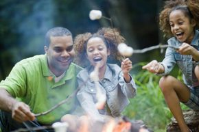 Like we said, marshmallows are always a hit. But you can get a little crazier than that with campfire food.