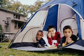A backyard campout can be a safer, more comfortable way to enjoy the great outdoors -- or just a fun alternative to the traditional sleepover.