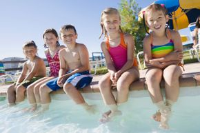It's no secret that kids love pool time, so let them enjoy -- always with adult supervision.