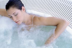 Keep your hot tub time down to 15 minutes or so, and never allow yourself to doze off.
