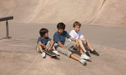 Get the whole gang in on the fun of building your skate park.