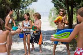 Water games are so much fun! See pictures of classic toys and games.