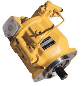 The hydraulic pump from a Caterpillar backhoe