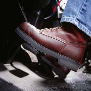 Your braking system -- held together by backing plates -- gets to work when you press the brake pedal.