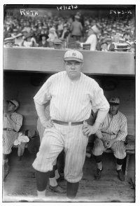Babe Ruth in a Yankees uniform -- a sign of things to come